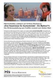 weitere Infos (pdf, 412 kb) - Schloss Moritzburg