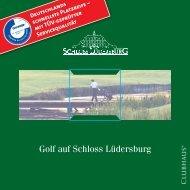 Golf auf Schloss Lüdersburg - Golfanlage Schloss Lüdersburg