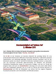 Plakat Drachensteigfest_2011 - Schlosshof