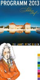 programm 2013 - Schlosshof