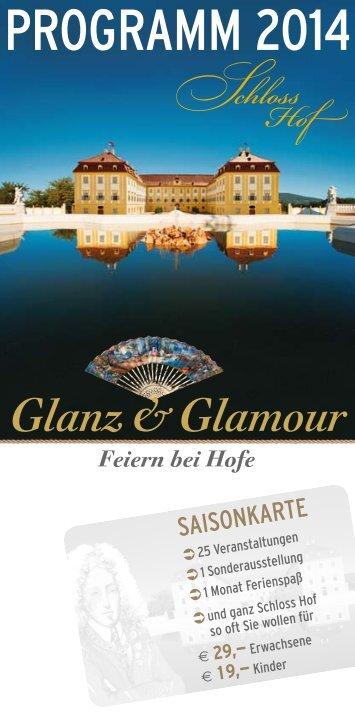 im Programmheft 2014 (pdf) - Schlosshof