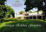 Hausprospekt - Schlosspark Mauerbach