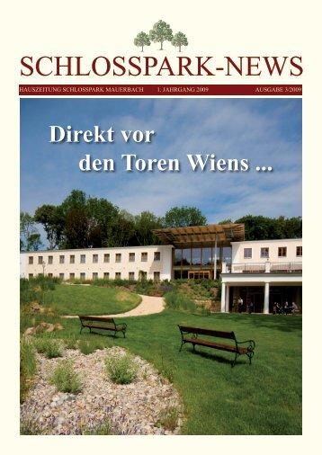Ausgabe 3/2009 - Schlosspark Mauerbach