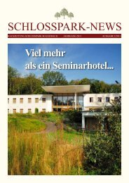 Ausgabe 2/2011 - Schlosspark Mauerbach