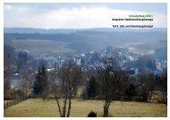 Ziele und Entwicklungskonzept - Schmallenberg