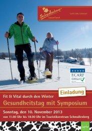 Gesundheitstag mit Symposium - Schmallenberger Sauerland