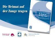 Nähere Informationen zur Veranstaltung - Johann Andreas Schmeller ...