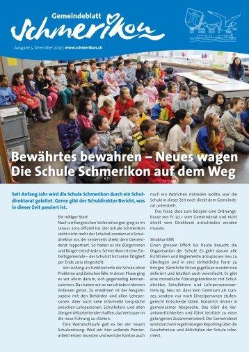 PDF: Download - Gemeinde Schmerikon