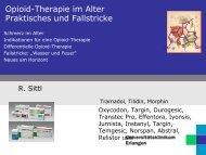 Opioidtherapie im Alter - Schmerzzentrum