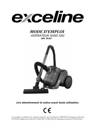 aspirateur sans sac 929505 exceline mc22tm1 electro depot. Black Bedroom Furniture Sets. Home Design Ideas