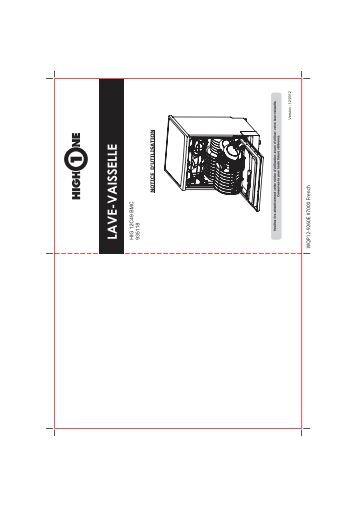 tw2g00714 00 notice highone lt1005bfp e1 5. Black Bedroom Furniture Sets. Home Design Ideas