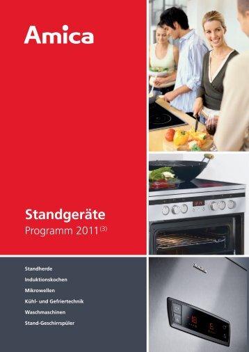 Standgeräte - Amica International GmbH