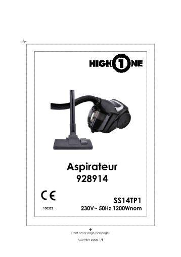 aspirateur sans sac 929505 exceline mc22tm1 electro depot. Black Bedroom Furniture Sets. Home Design Ideas