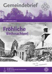 Fröhliche Weihnachten - Evangelische Burgkirchengemeinde ...