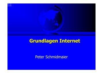 Grundlagen Internet