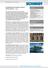 Mecklenburgische Seenplatte   Schwerin, Wismar, Rostock
