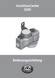 Bedienungsanleitung AnschlussCenter 3200 - Heinrich Schmidt ...