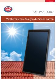 OPTIMA – Solar - Heinrich Schmidt GmbH & Co. KG