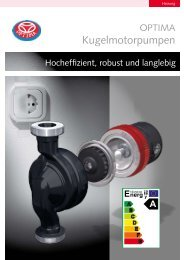 Kugelmotorpumpen - Heinrich Schmidt GmbH & Co. KG