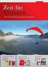 Das SchmidtColleg Verlagsprogramm 2010 - SchmidtColleg GmbH ...