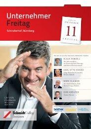 Programm - SchmidtColleg GmbH & Co. KG