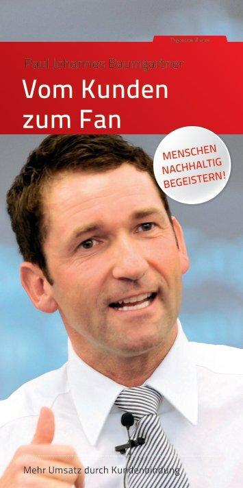 Vom Kunden zum Fan - SchmidtColleg GmbH & Co. KG
