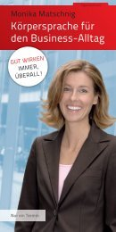 Körpersprache für den Business-Alltag - SchmidtColleg GmbH & Co ...