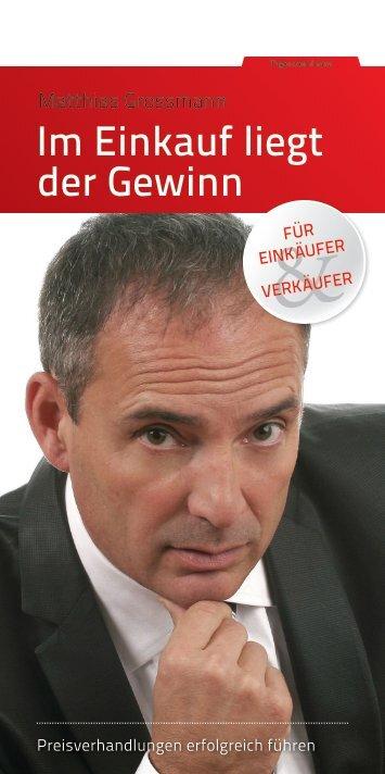 Im Einkauf liegt der Gewinn - SchmidtColleg GmbH & Co. KG