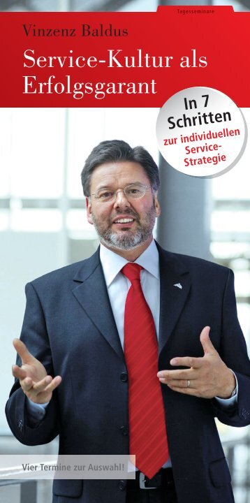 Service-Kultur als Erfolgsgarant - SchmidtColleg GmbH & Co. KG