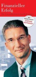 zieller Finanzieller Erfolg - SchmidtColleg GmbH & Co. KG