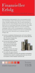 zieller Finanzieller Erfolg - SchmidtColleg GmbH & Co. KG - Page 2