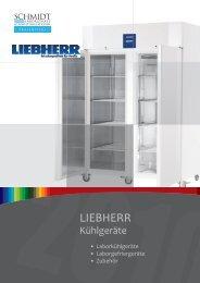 19 Teilkatalog Liebherr 2010n.indd - Schmidt Laborgeräte