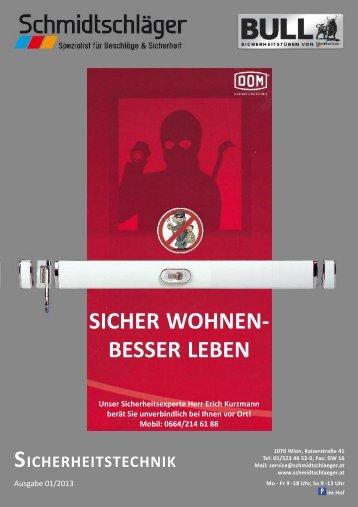Sicherheitsmagazin - Schmidtschläger
