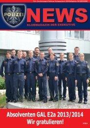 Polizei News 2_2014 Salzburg Klubmagazin der Exekutive - FSG