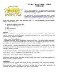 Schmitt Music Small-Stars Handbook