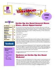 Strike Up the Band General Music Class...Great ... - Schmitt Music