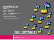The downbeat - Schmitt Music