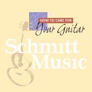 Guitar Care - Schmitt Music