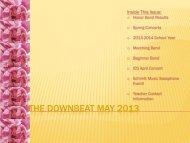 Newsletter (May 2013) - Schmitt Music