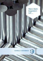 DE - PDF Download - SCHMOLZ-BICKENBACH.CH