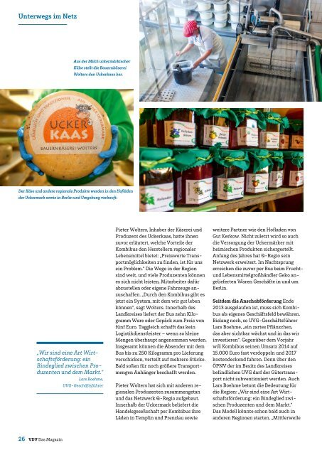 VDV Das Magazin Ausgabe Juni 2014