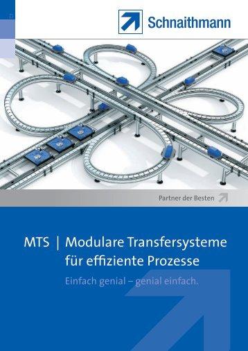 Modulare Transfersysteme für effiziente Prozesse - Schnaithmann ...