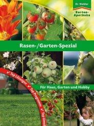 Rasen-/Garten-Spezial - Gartenapotheke