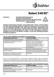 Select 240 EC® - Schneckenprofi