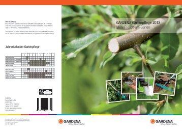 GARDENA Gartenpflege 2012 Mehr Freude am ... - Schneckenprofi