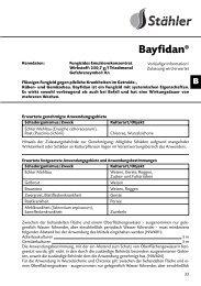 Bayfidan® - Schneckenprofi
