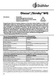 Discus®/Stroby® WG - Schneckenprofi