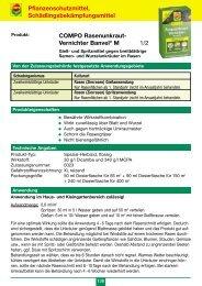 Gebrauchsanleitung für Rasenunkraut-Vernichter ... - Schneckenprofi