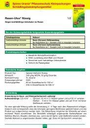 Rasen-Utox® flüssig 1/2 Spiess-Urania ... - Schneckenprofi