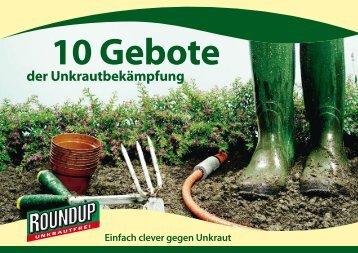 10 Gebote - Schneckenprofi